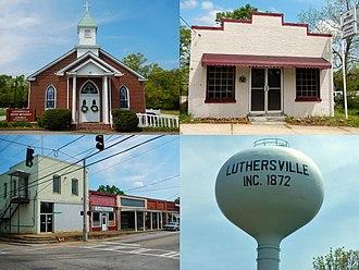 Luthersville, Georgia - Luthersville in 2013