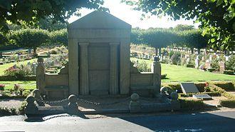 Lars Olsson Smith - L.O. Smith's grave