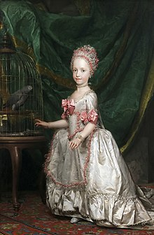 Maria Theresia als Vierjährige, Anton Raphael Mengs, 1771, Museo del Prado, Madrid (Quelle: Wikimedia)