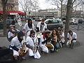 La fanfare d'étudiants en médecine de Paris VI Les Blouses Brothers - 3 - P1460682.JPG