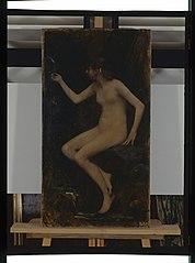 La source, étude de nu