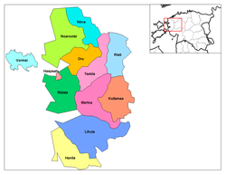 Laane municipalities.png