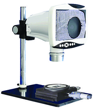 Stereo microscope - Labomed LB-343 5.0 MP digital stereo microscope with 9 inch HD LCD screen, HDMI video output, X/Y digital micrometer and moving stage