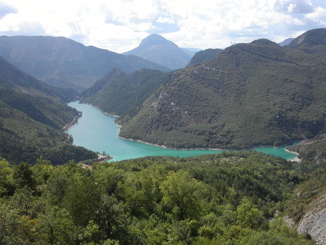 Castellane Lac de Chaudanne