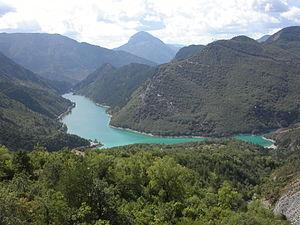 Castellane - Lac de Chaudanne