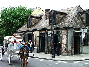 Lafitte's Blacksmith Shop - Image: Lafittes Carriage 1May 2004
