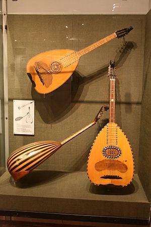 Music of Cyprus - Different types of Laoutos, dominant instrument of the Cypriot traditional music.