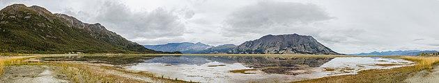 Lago Kluane, Destruction Bay, Yukón, Canadá, 2017-08-25, DD 70-76 PAN.jpg