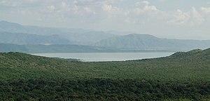 Lake Chamo - Lake Chamo seen from Arba Minch