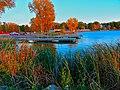 Lake Mendota at Warner Beach - panoramio.jpg