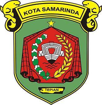 Samarinda - Image: Lambang Kota Samarinda