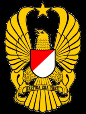 Try Sutrisno - Image: Lambang TNI AD