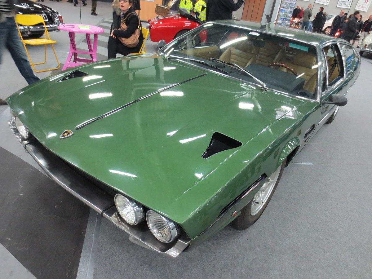 Modele Salon : Lamborghini espada — wikipédia