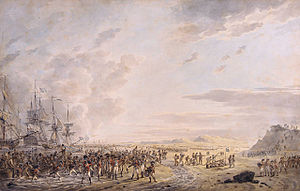 Battle of Callantsoog - Image: Landing Calantsoog