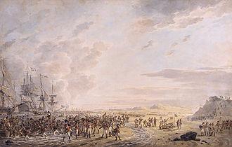 Battle of Callantsoog - Landing at Callantsoog by Dirk Langendijk