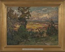 Landscape with a Village. Study from North Norway (Anna Boberg) - Nationalmuseum - 21308.tif