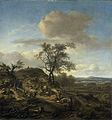 Landschap met een jager en andere figuren Rijksmuseum SK-C-274.jpeg