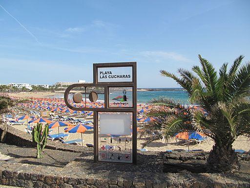 Lanzarote - Playa Las Cucharas