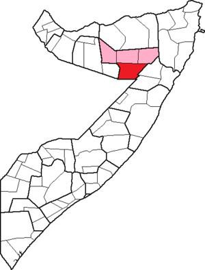 Las Anod District - Image: Las Anod District