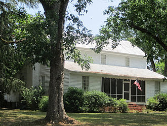Autaugaville, Alabama - The Lassiter House in Autaugaville, which is listed on the National Register of Historic Places.