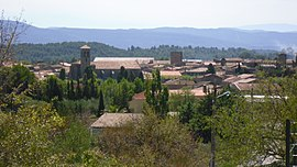 A general view of Laure-Minervois