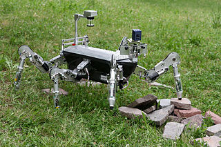 Robot hexapode