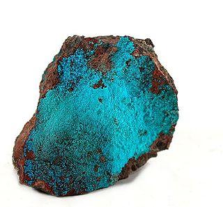 Lavendulan arsenate mineral