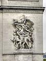 Le Départ des volontaires de 1792 by François Rude - Arc de Triomphe 01.jpg