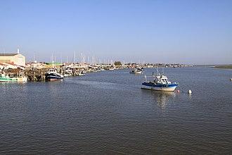 L'Aiguillon-sur-Mer - The port of Aiguillon-sur-Mer, located in the estuary of the Lay River