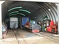 Leadhills Railway Station -7. Engine Shed.jpg