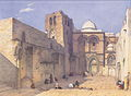 Leander Russ - Die Grabeskirche in Jerusalem - 1842.jpeg