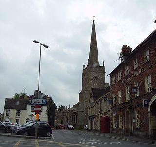 Lechlade town in Lechlade civil parish in Cotswold, Gloucestershire, England