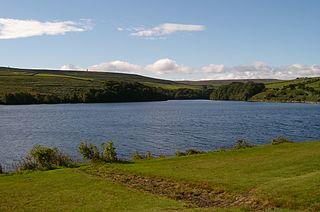 Leighton Reservoir lake in the United Kingdom