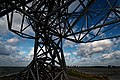 Lelystad - Houtribdijk - Exposure (of Crouching Man) 2010 by Antony Gormley - View North II.jpg