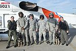 Lending a paw, Coast Guard helps Air Force military working dogs get acclimated 160729-G-RD093-029.jpg