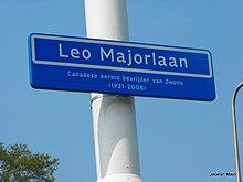 Avenue de la ville de Zwolle nommée en l