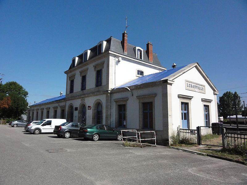 Lerouville (Meuse) gare