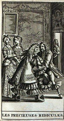 Les Précieuses ridicules scène XI de Molière Bac  2 Littérature