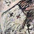 Leteči Max, 1984, akril, platno, 180 x 180 cm.jpg