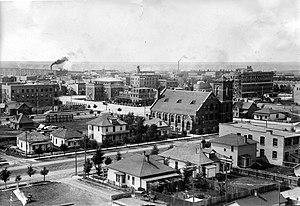 Lethbridge - Downtown Lethbridge 1911