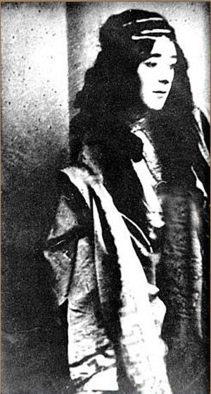 Ahmed Agdamski - Ahmed Agdamski acting as Leyli from Leyli and Majnun (opera)