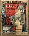Liège, Grand Curtius, affiche du Musée d'Armes, 1888.JPG
