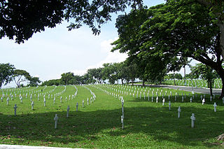 national cemetery in the Philippines