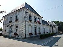 Licques (Pas-de-Calais) mairie, vestige de l'abbaye.JPG