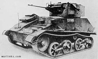 British Expeditionary Force (World War II) - Image: Light Tank Mk VIC
