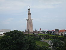 Lighthouse of Alexandria in Changsha.jpg