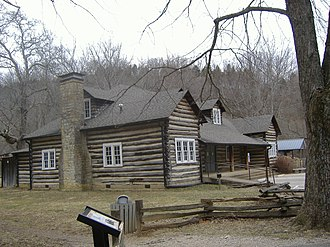 Knob Creek Farm - Image: Lincoln Knob Creek Tavern