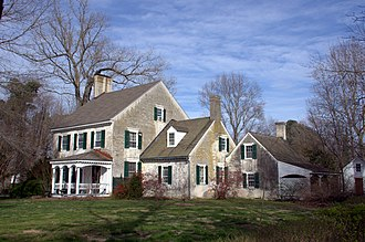 National Register of Historic Places listings in Worcester County, Maryland - Image: Linda Roy Walls Burley Manor Wor MD1