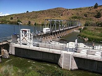 Link River Dam - The Link River Dam complex
