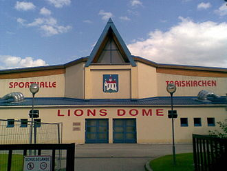Traiskirchen Lions - Lions Dome, home arena of the club